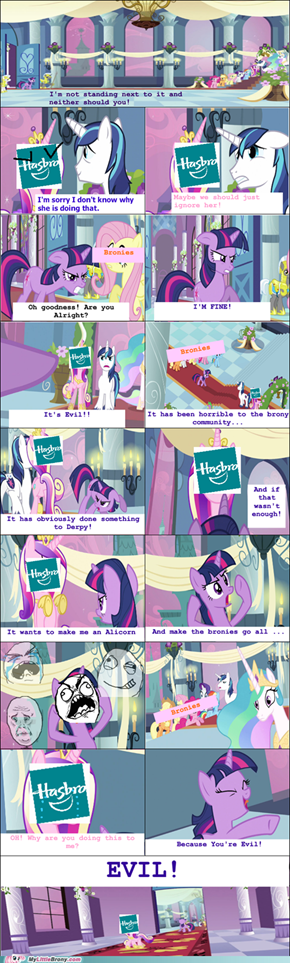 Twilight vs Hasbro