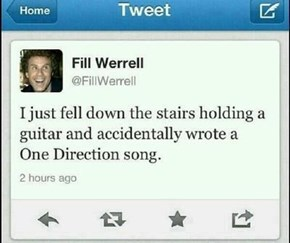 That's the Oldest Excuse in the Book for Getting Caught Playing a 1D Song