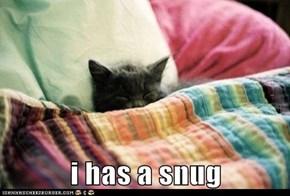 i has a snug