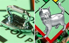 Monopoly Drops the Iron, Adds A Cat Game Piece