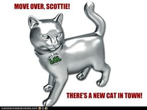 MOVE OVER, SCOTTIE!