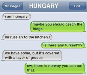 I'm Hungary!