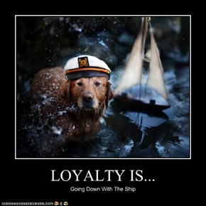LOYALTY IS...