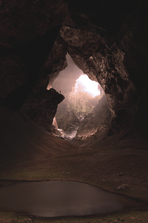 The Light at the End of the Cave