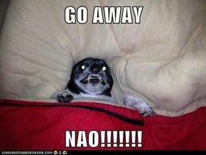 GO AWAY  NAO!!!!!!!