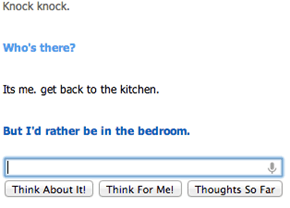 Cleverbot is clever...