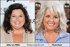 Abby Lee Miller Totally Looks Like Paula Deen