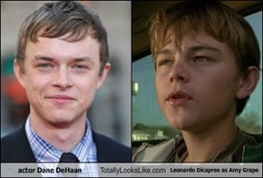 actor Dane DeHaan  Totally Looks Like Leonardo Dicapreo as Arny Grape