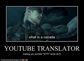 YOUTUBE TRANSLATOR