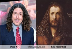 Weird Al Totally Looks Like King Richard III