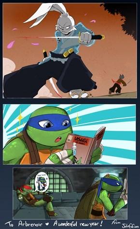 Leo Loves Usagi Comics