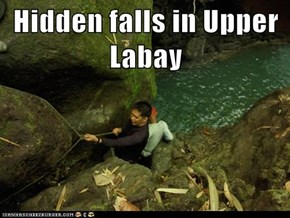 Hidden falls in Upper Labay