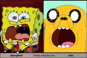 Spongebob Totally Looks Like Jake