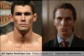 UFC fighter Dominique Cruz Totally Looks Like Christian Bale in 'AMERICAN PSYCO