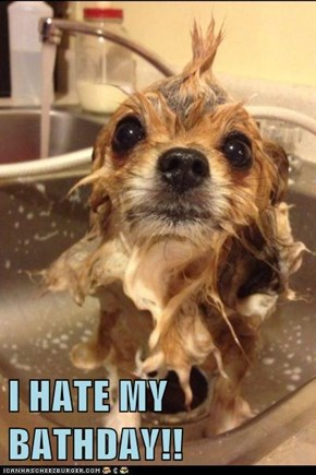 I HATE MY BATHDAY!!