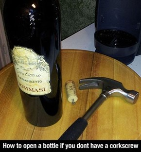 Corkscrews Are Overrated