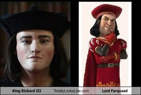 King Richard III Totally Looks Like Lord Farquaad