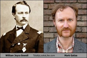 William Joyce Sewell  Totally Looks Like Mark Gatiss