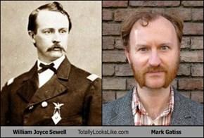 William Joyce Sewell  Totally Looks Like Mark Gatiss