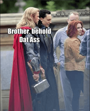She'd Turn Asgard into Assgard