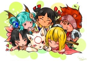 All the Okamiden Aww......!