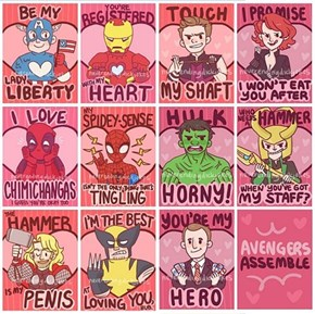 The Avengers Valentine's Day Initiative