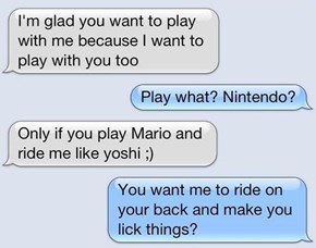 Nothing Sexier Than Yoshi