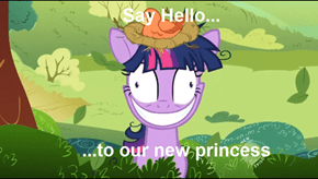 all hail to our new princess