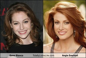 Esme Bianco Totally Looks Like Angie Everhart