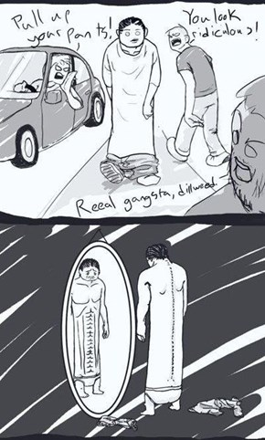 Webcomic of the Day: Misunderstood Pants Sagger