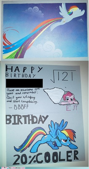 Birthday card for my bro