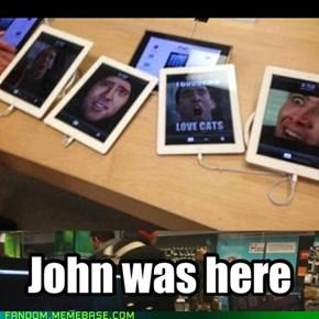 JOHN STOP JOK1NG