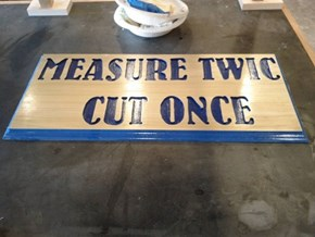 This Sign is a Necessity for Any Wood Shop