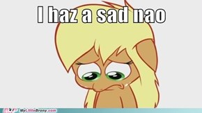 Poor Applejack