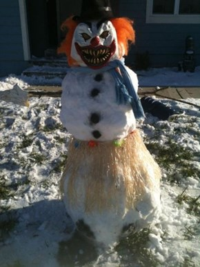 Lets Hope This Snowman Doesn't Come to Life