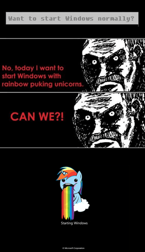 Rainbow Puking Unicorns
