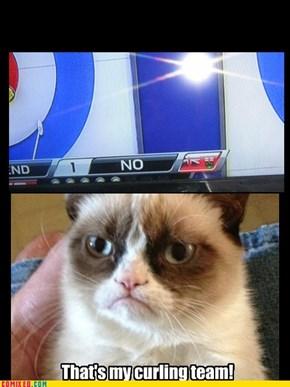 Grumpy curling
