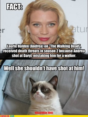 Laurie Holden Death Threats
