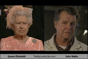 Queen Elizabeth Totally Looks Like John Noble
