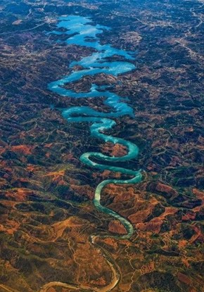Riding the Blue Dragon River in Portugal