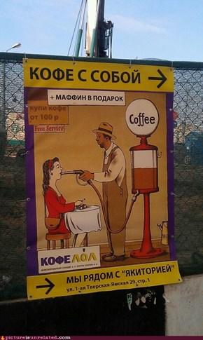 Cafe ads