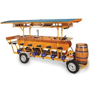 Only $40,000 For Your Very Own Pedal-Pub!