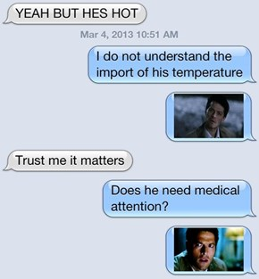 Castiel Doesn't Understand