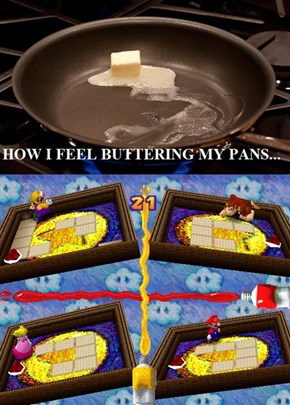 Why Cooking Reminds Me of Mario Party