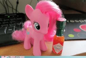 Pinkie likes salsa.