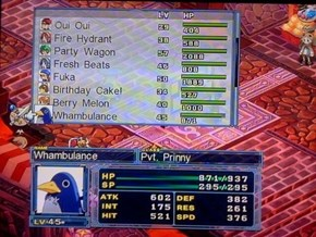 Disgaea 4's Random Name Generator is the Best