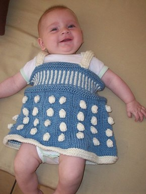 That Baby Looks Like a Dalek!