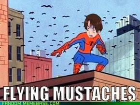 Romano's flying mustaches