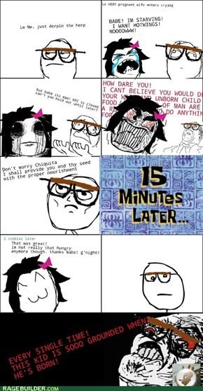 Pregnancy Rage