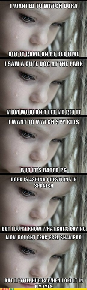 First World Child Problems